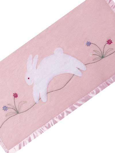 Fuzzy Bunny Blanket photo