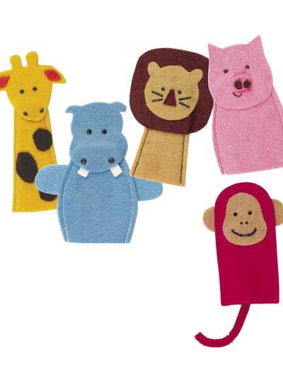 Noah's Friends Play Pad & Finger Puppets photo