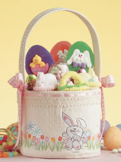 Bunny Hop Spring Basket photo