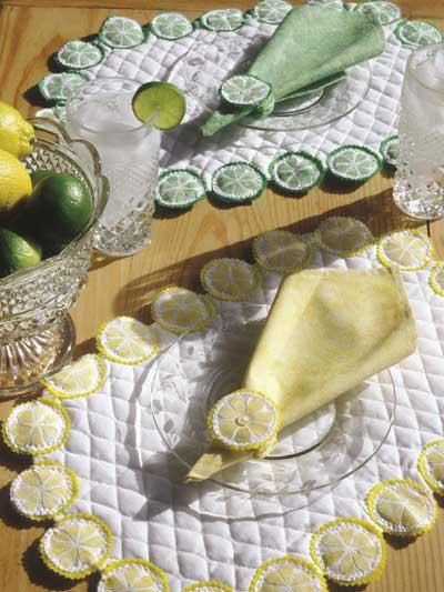 Cool Citrus Table Set photo
