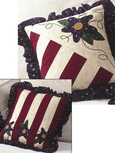Americana Starflower Pillows photo