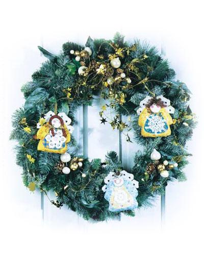 Snowflake Angel Ornament photo