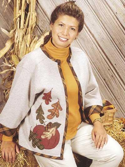 Autumn Breeze Sweatshirt Jacket photo