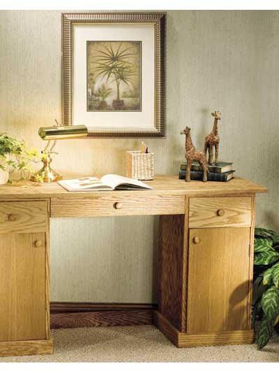 Simply Oak Desk photo
