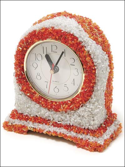 Sherbet & Sprinkles Beaded Clock photo