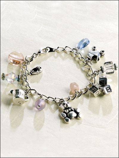 New Mom Charm Bracelet photo