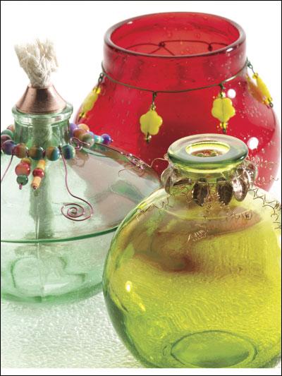 Beaded Jars photo