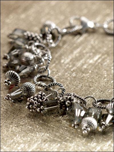 Smoke & Silver Bracelet photo
