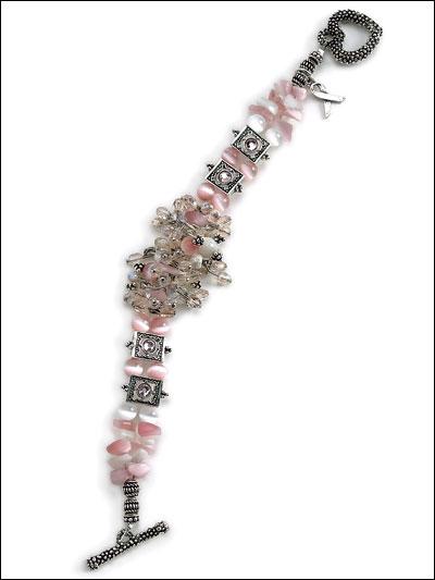 For a Cure Bracelet photo