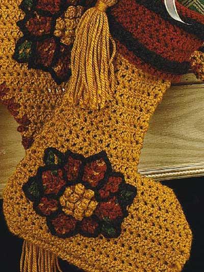 Crochet 'n' Weave Stocking photo