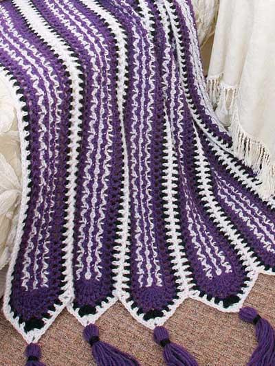 Crochenit Southwest Mile-a-Minute Afghan photo