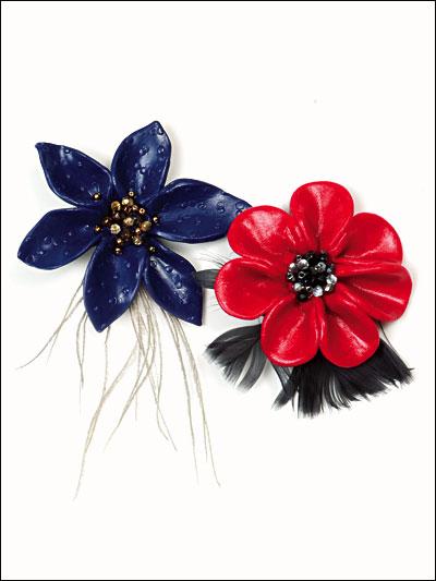 Festive Feathered Flowers photo