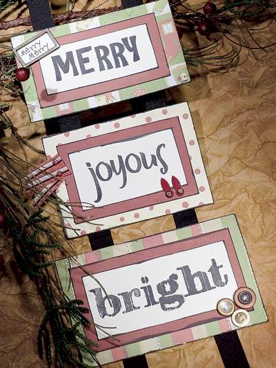 Merry, Joyous & Bright photo