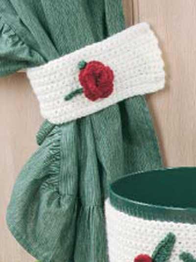 Simply Roses Curtain Tie Backs photo