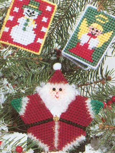 Santa and Friends Ornaments photo