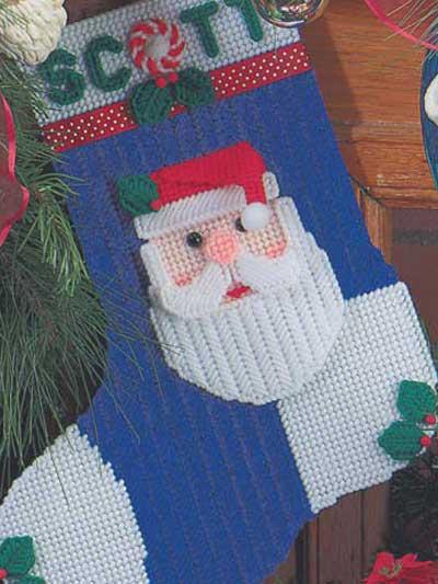 Ho Ho Santa Stocking photo