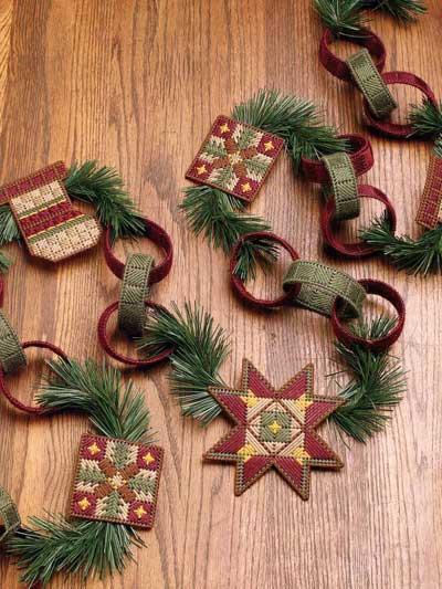 Country Christmas Garland photo