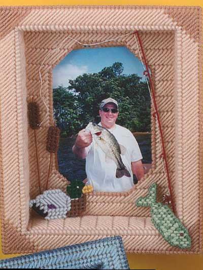 Fisherman's Shadow Box Frame photo