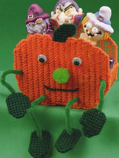 Pumpkin Treat Sitter photo