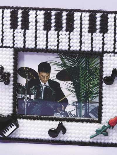 Music! Music! Music! Fun Frame photo