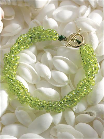 Emerald Sea Bracelet photo