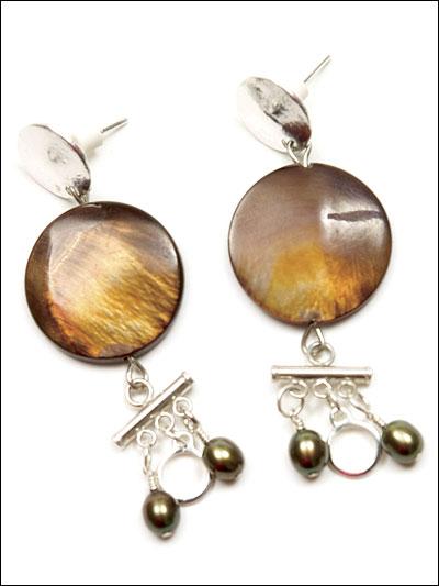 Golden Moon Earrings photo