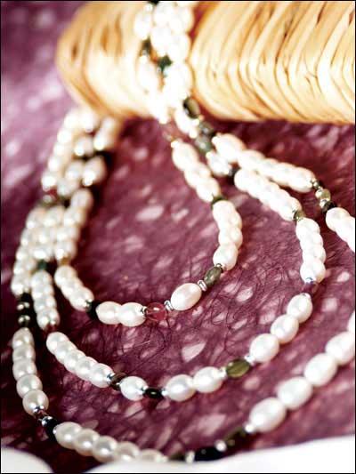 Pearls & Tourmaline photo