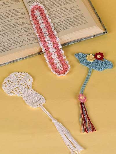 Elegant Thread Bookmarks photo