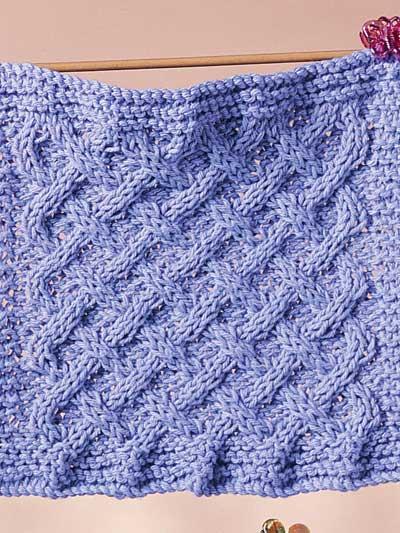 Weaving Dishcloth photo