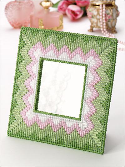 Pastel Frame Mini Mirror photo