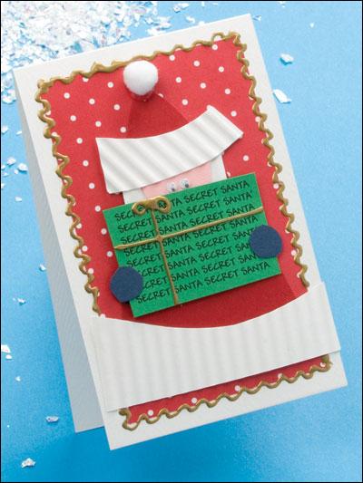 Secret Santa Party Invitation photo
