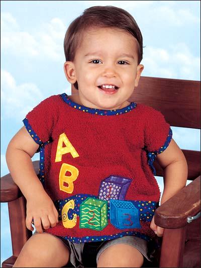Baby Blocks Bib photo