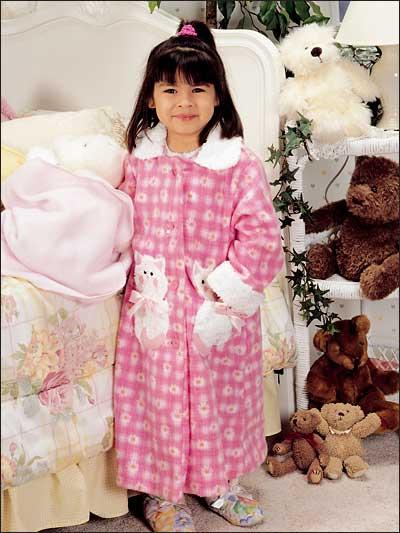Fleecy Kitten Robe photo