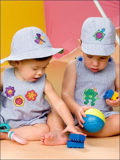 Kidstuff Romper Sets photo