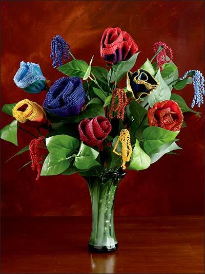 Serger Lace Flowers photo