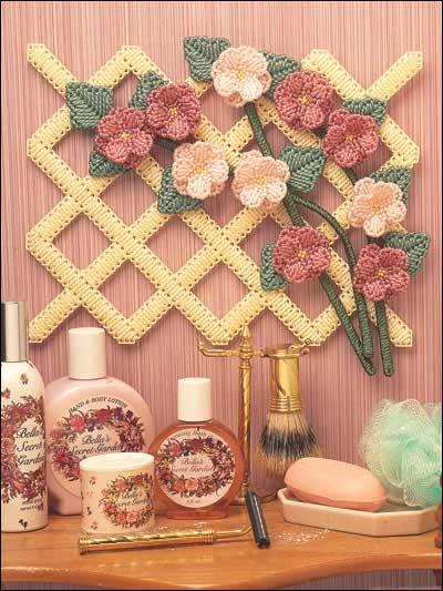 Flowered Lattice photo