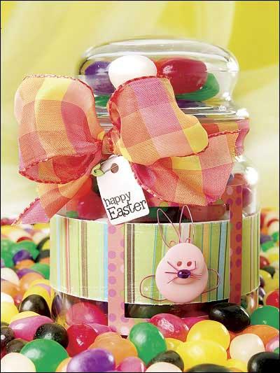 Easter Treat Jar photo