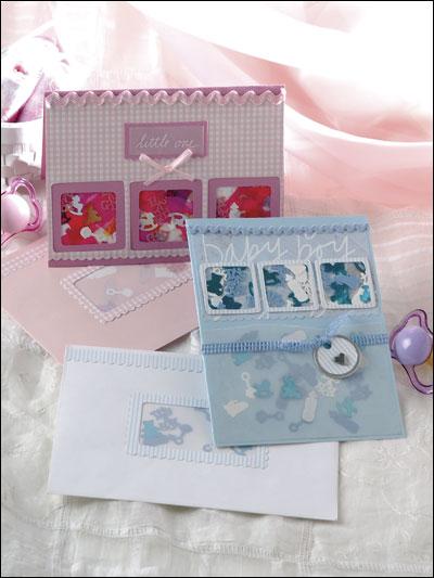 Baby Confetti Cards photo
