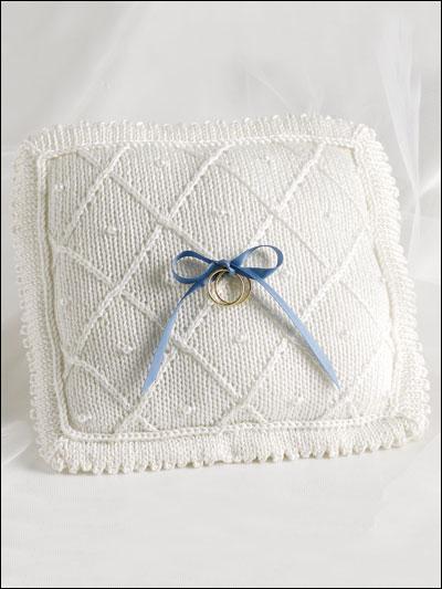 Elegant Wedding Pillow photo