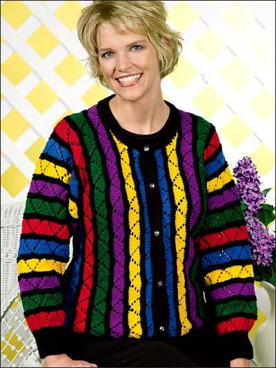 Rainbow Lace Jacket photo