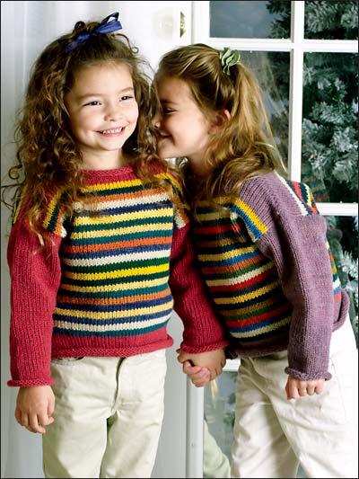 Random Stripes Pullover photo
