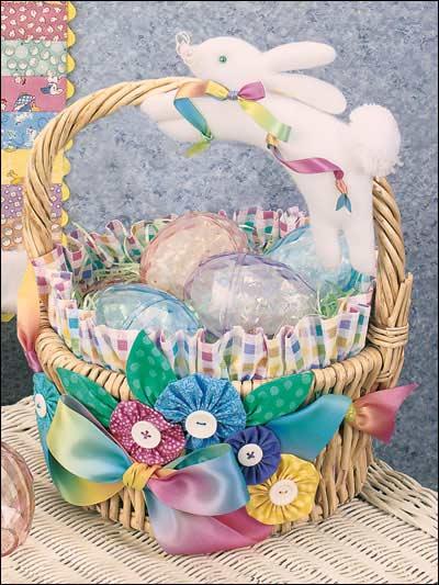 Bunny Flight Basket photo