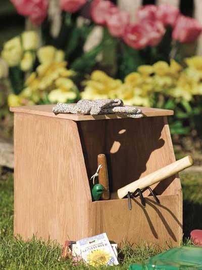 Garden Caddy Stool photo