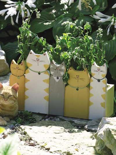 Cat Planter photo