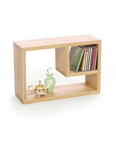 Oak CD/Bookshelf photo