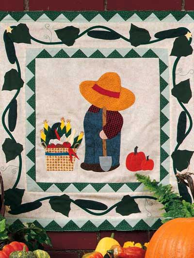 Gardening Bill Wall Quilt photo