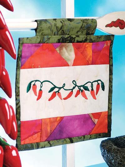Chili Peppers Mini-Banner photo