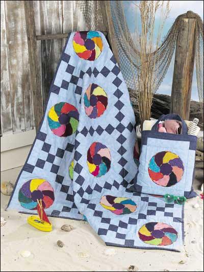 Beach Ball Quilt & Tote Bag photo