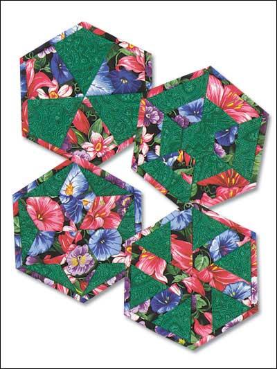 Hexagon Flowers photo