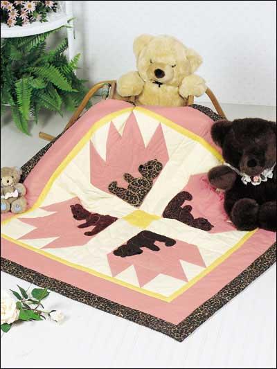 Teddy Bear's Paw Quilt photo